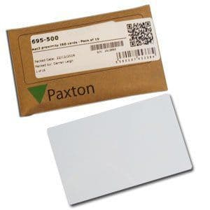 Paxton 692 500 Net2 Prox Cards - No Mag Stripe, 10 Pack